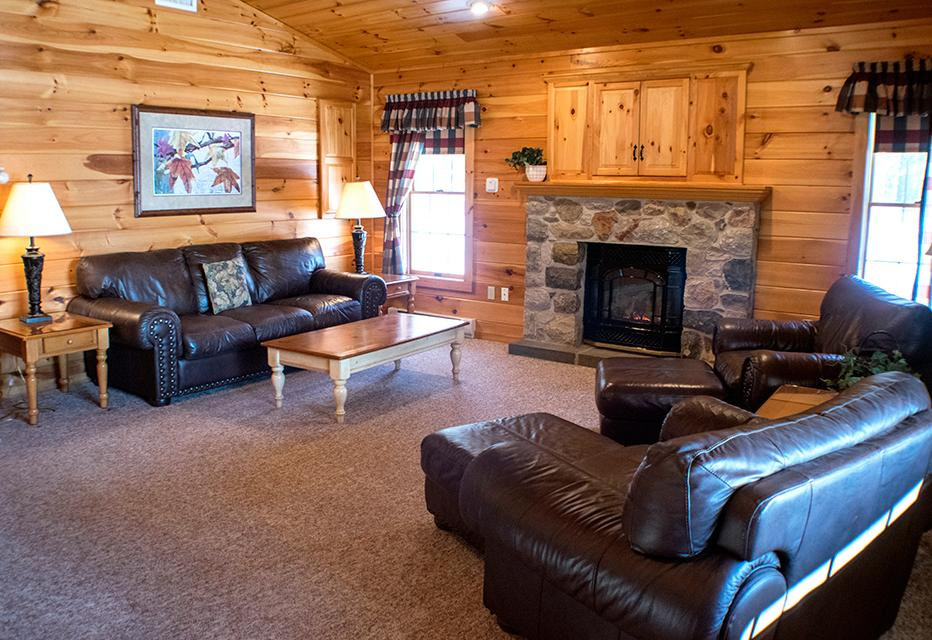 hemlock livingroom rentals poconos cabins cottage lake bedroom stay retreat lowres mountain in for rent cottages springs the cabin