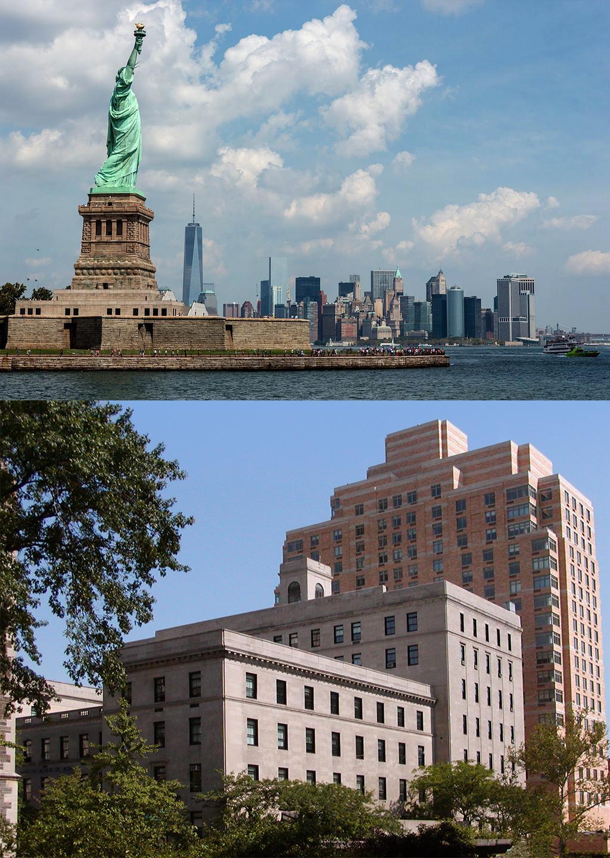 Statue of Liberty, Manhattan School of Music