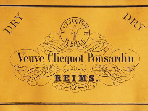 Original Veuve Clicquot Yellow Label