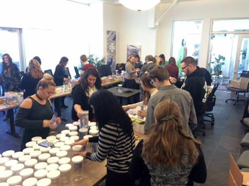 ALEX AND ANI Employees Volunteer to Create Jars of Hope