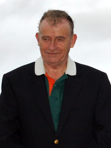 Michael Herbst at Prize Giving During the Newport International Polo Series