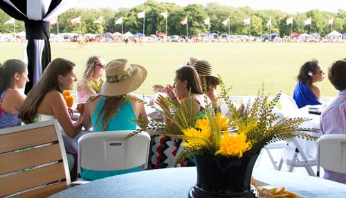 Bachelorette Party During the Newport International Polo Series