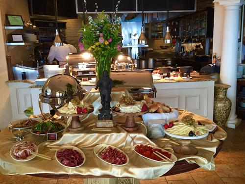 The Spiced Pear Easter Buffet at The Chanler