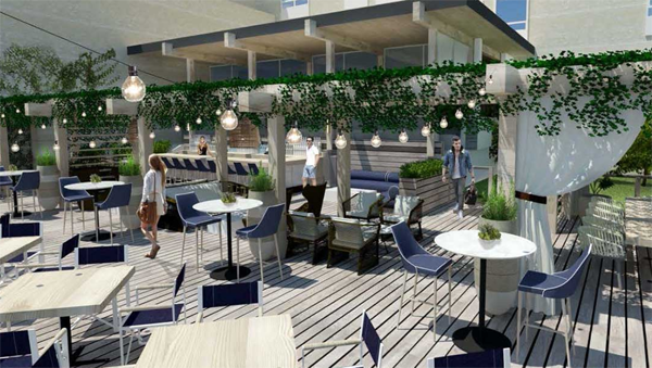 Rendering of Scarpetta at Gurney's Newport