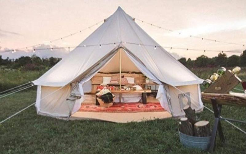 Glamping Tent by Exquisite Events