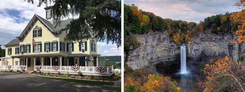 Taughannock Inn and Falls