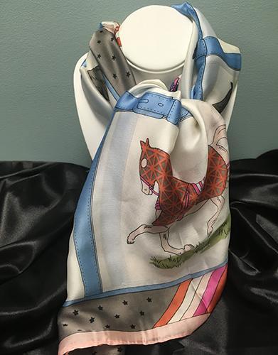 Silk Horse Scarf
