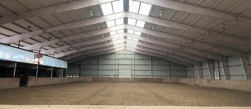 Arena at Newport Polo Indoor Training Center