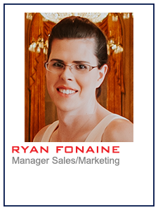 Ryan Fontaine, Manager Sales/Marketing