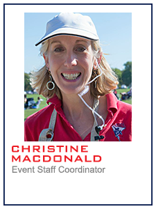 Christine MacDonald, Event Staff Coordinator