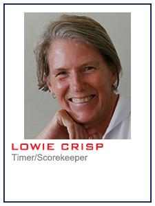 Lowie Crisp, Timer/Scorkeeper