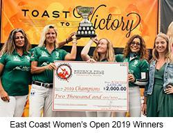 Winners 2019 East Coast Women's Open