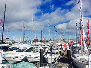 Docks at Newport International Boat Show