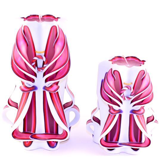 Pink Red Purple Tye Dye Angels