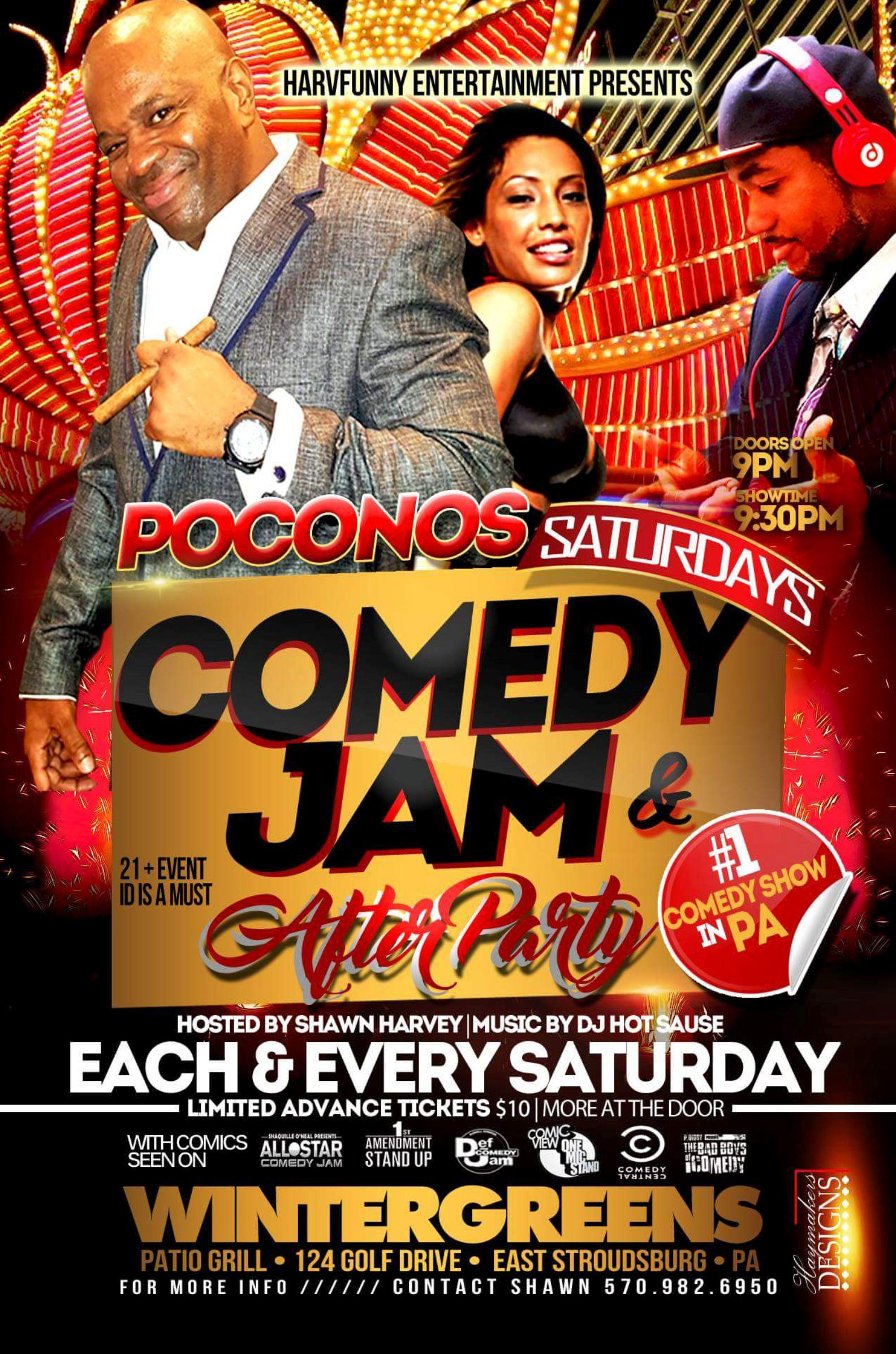 Comedy Jam & DJ After Party