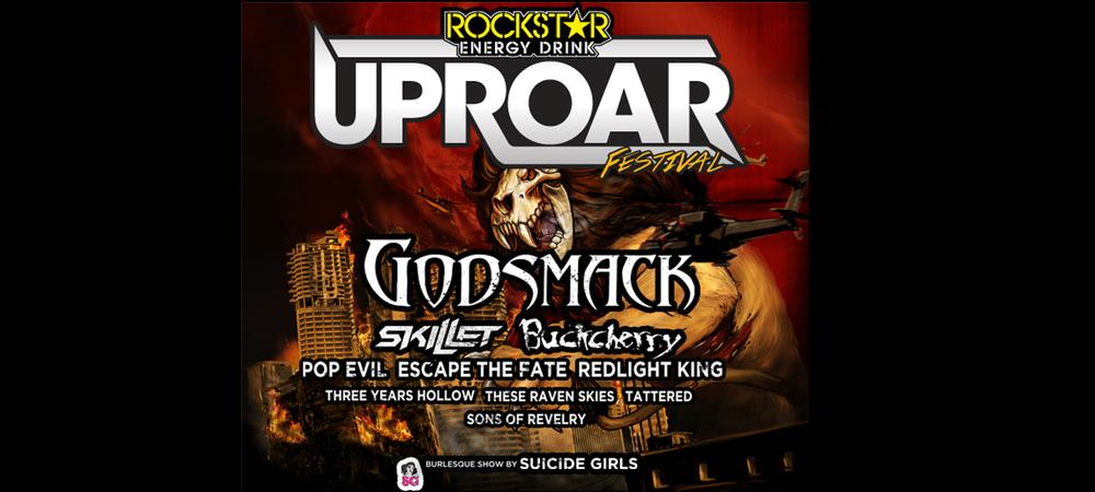 Rockstar Energy Uproar Festival - At Mount Airy Casino