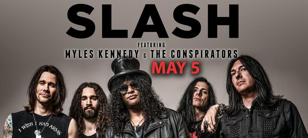 Slash featuring Myles Kennedy and The Conspirators: World on Fire Tour