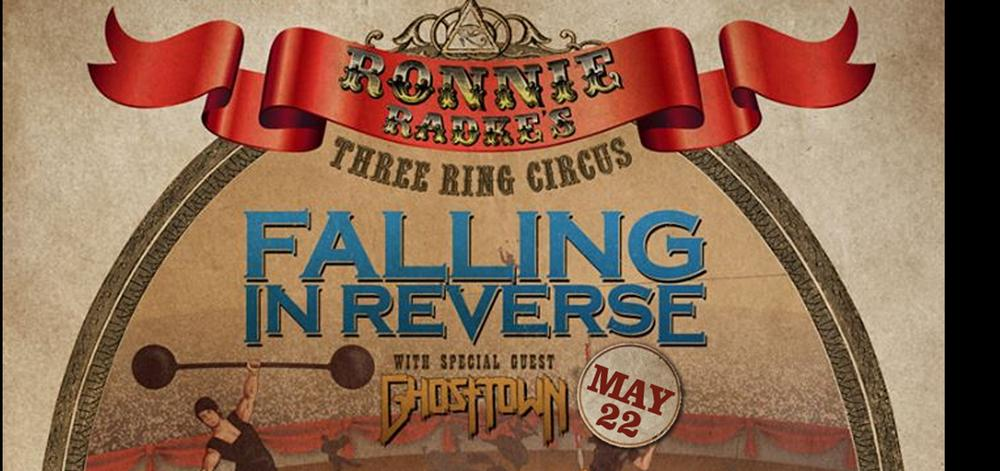 Falling In Reverse - Ronnie Radke's Three Ring Circus