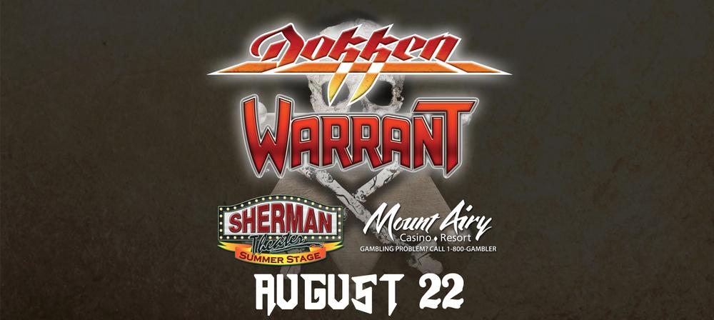 Dokken & Warrant with Firehouse