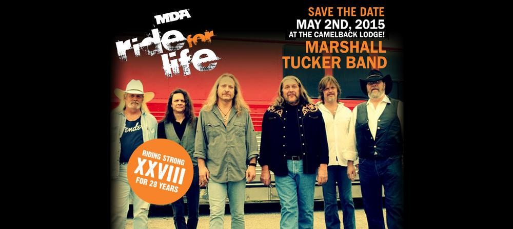 MDA Ride for Life featuring The Marshall Tucker Band
