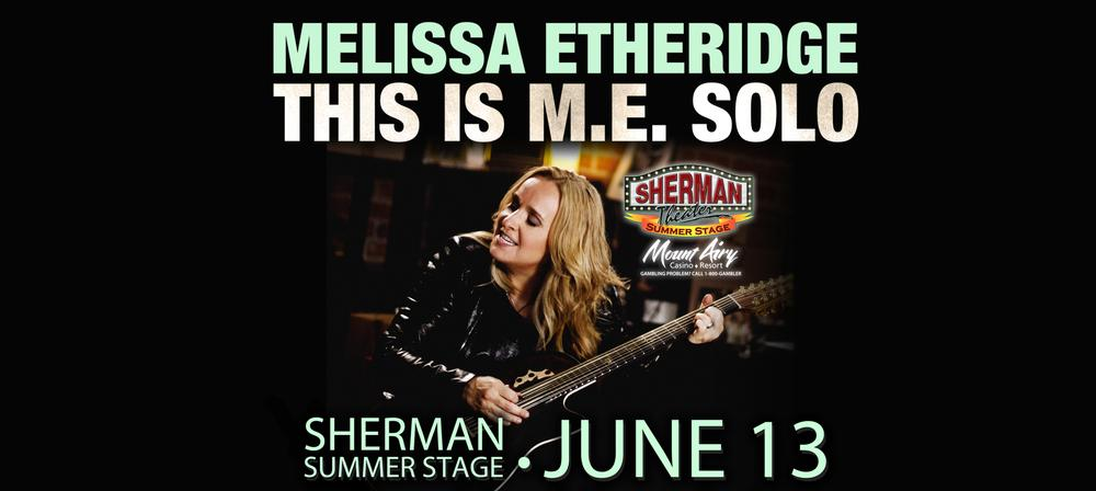 Melissa Etheridge-This Is M.E. Solo Tour
