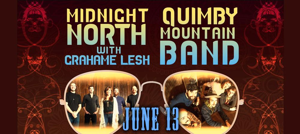 Midnight North w/Grahame Lesh & Quimby Mountain Band