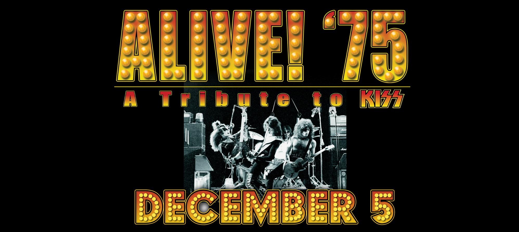 KISStival featuring - Alive! '75: A Tribute to Kiss