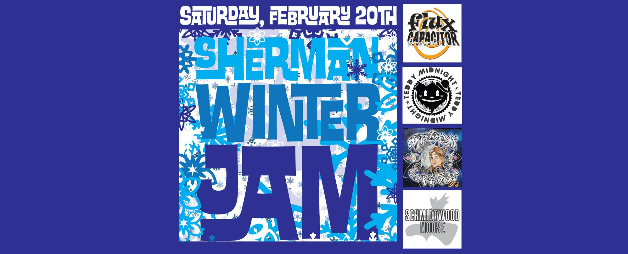 the Annual Sherman Winter Jam