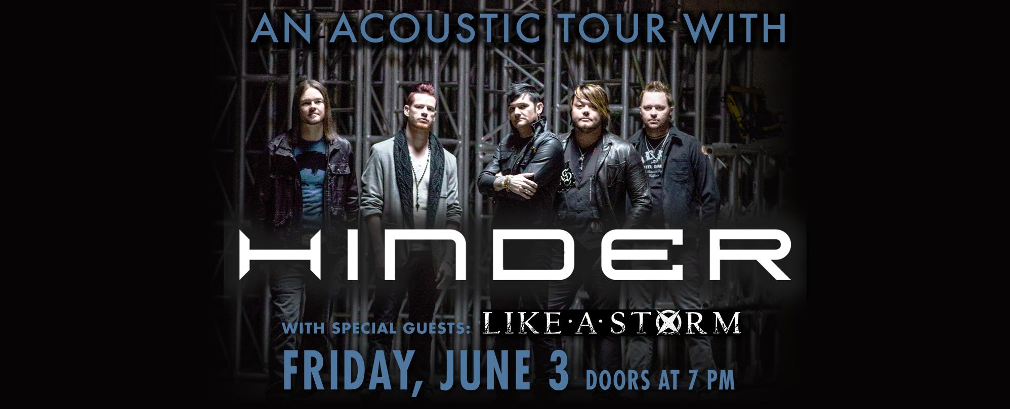 Hinder: Stripped - An Acoustic Tour