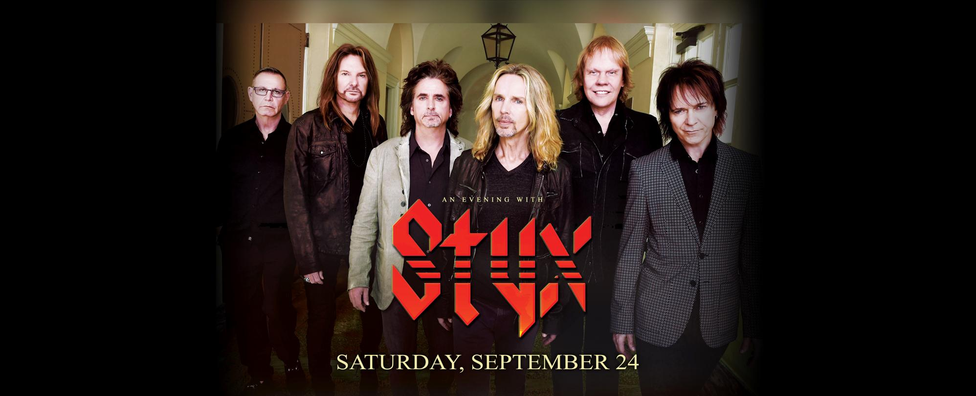 an evening with Styx