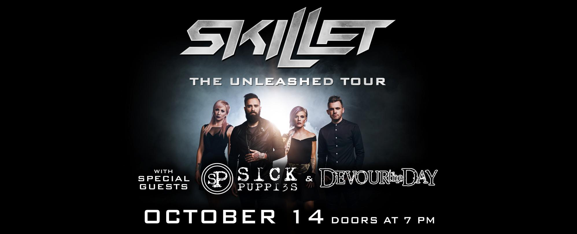 Skillet - Unleashed Tour 2016