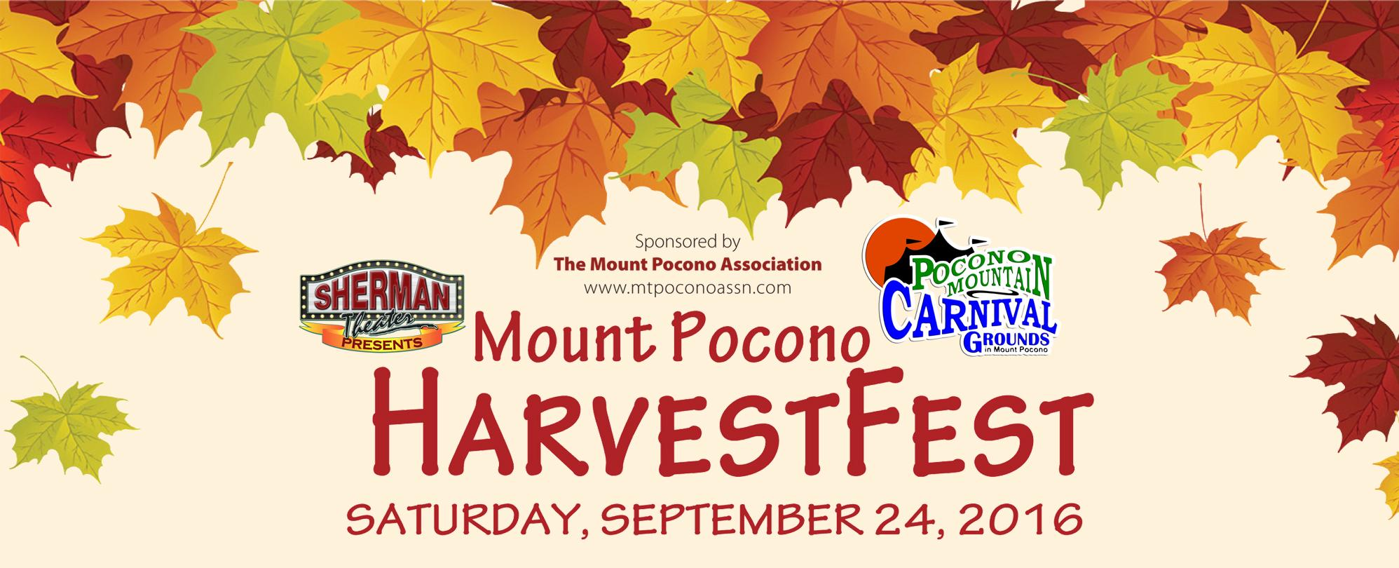 Mount Pocono HarvestFest *at the Pocono Mountain Carnival Grounds*