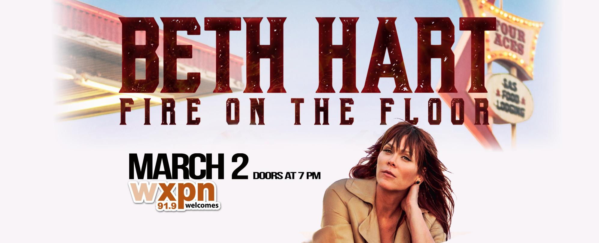 WXPN Welcomes: Beth Hart