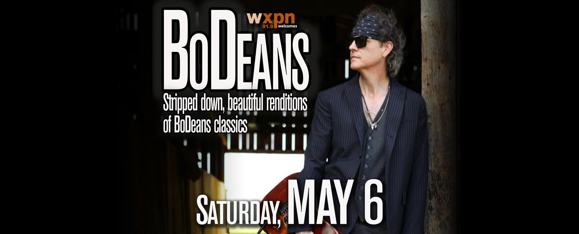 WXPN Welcomes: BoDeans