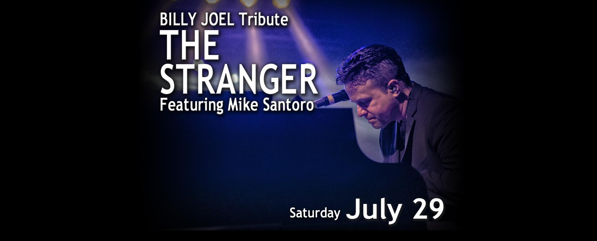 BILLY JOEL tribute: the Stranger