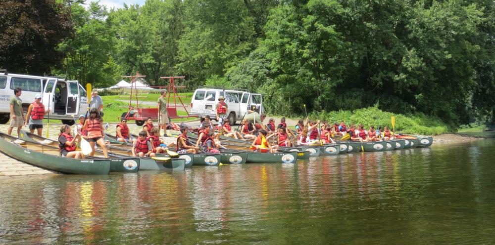 Canoeing Group
