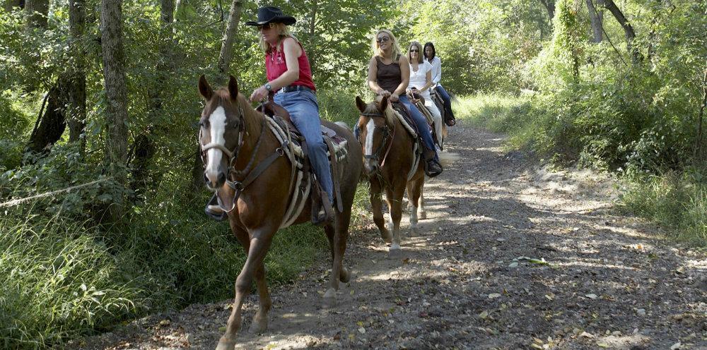 Spring Horseback Riding