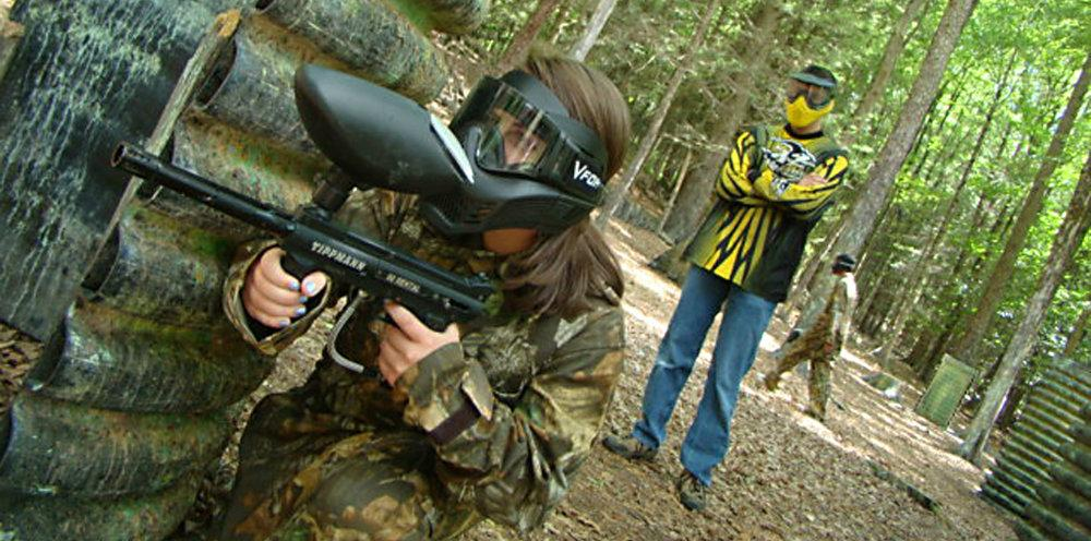 Paintball Girl with Ref