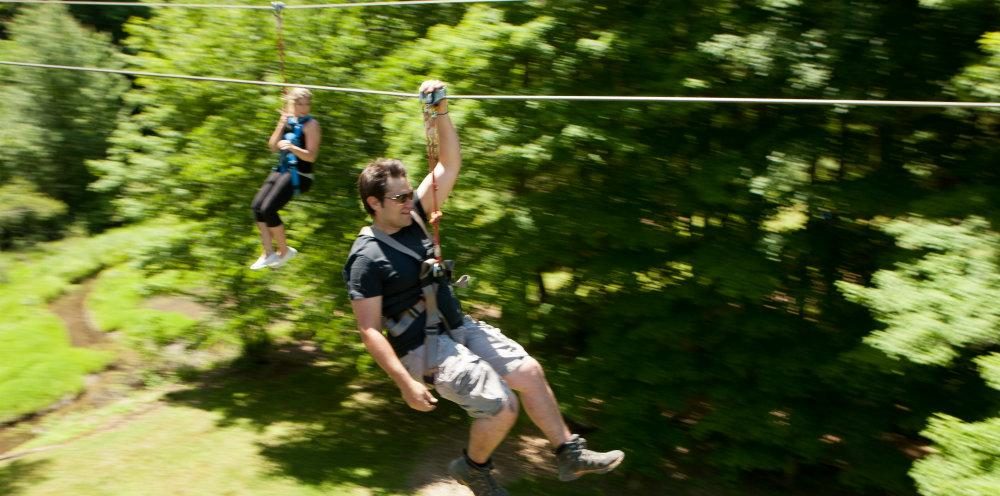 Zip Line Two People