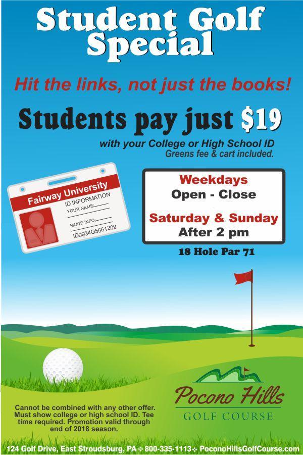 Student Golf