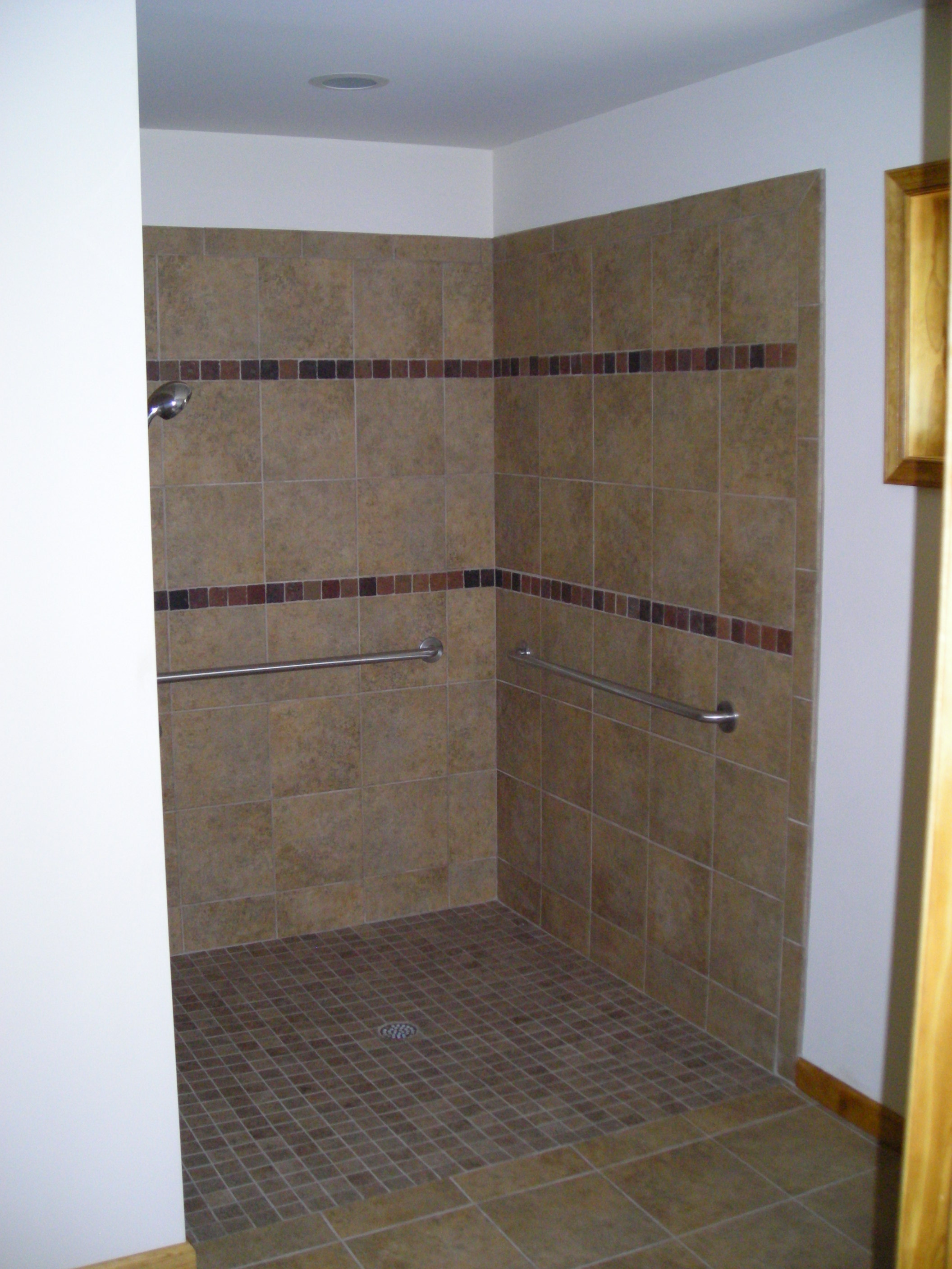 Bath Project Two - Handicap Roll-in Shower - Pocono Modular Homes ...