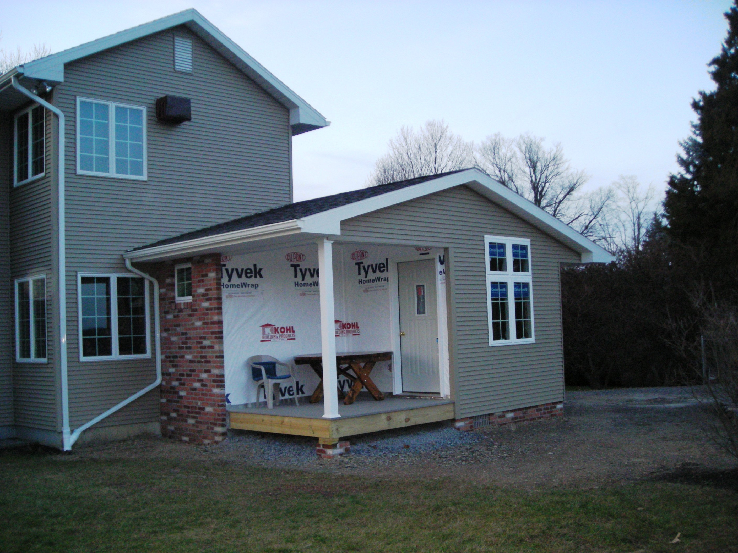 Addition Project Seven 20 feet by 26 feet Addition