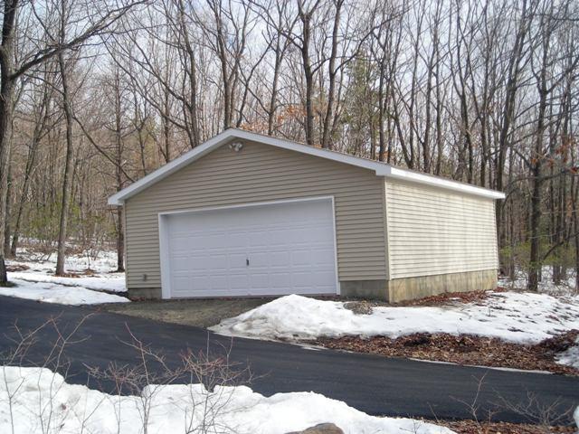 Garage Project Six - 24 x 24 Garage - Pocono Modular Homes | Mark of on