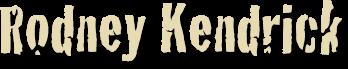 Rodney Kendrick