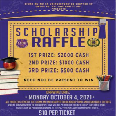 SMM Scholarship Raffle